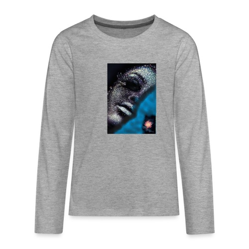 Halbegesicht - Teenager Premium Langarmshirt