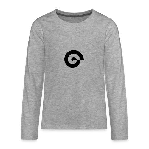 Rastergrafik schwarz - Teenager Premium Langarmshirt