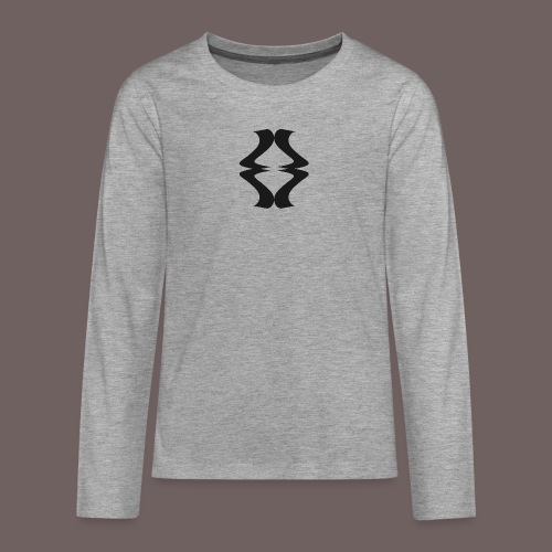 GBIGBO zjebeezjeboo - Rock - As de pique - T-shirt manches longues Premium Ado