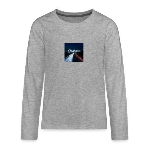Ottobror 1 - Långärmad premium T-shirt tonåring