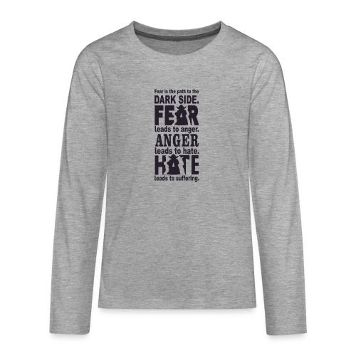 F06 - Teenagers' Premium Longsleeve Shirt