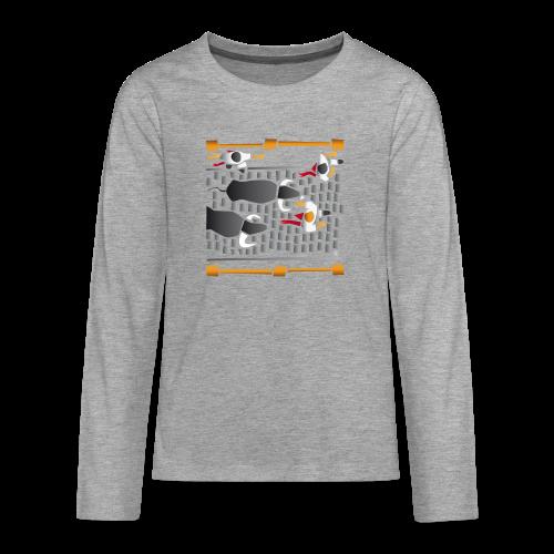 El encierro - Camiseta de manga larga premium adolescente