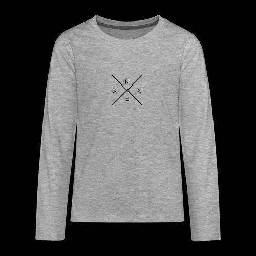 NEXX cross - Teenager Premium shirt met lange mouwen