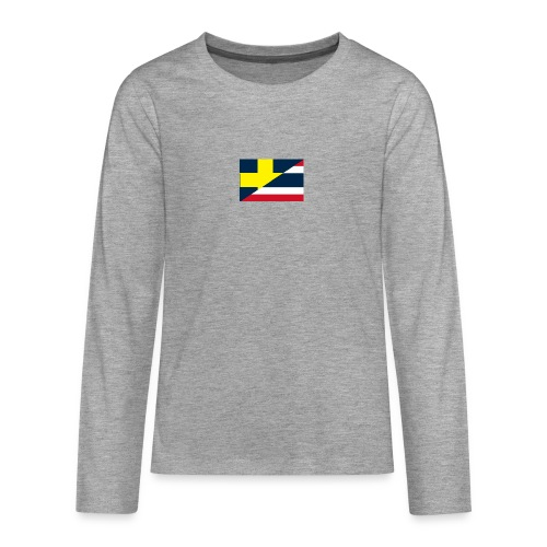 Sverige Thailand - Långärmad premium T-shirt tonåring