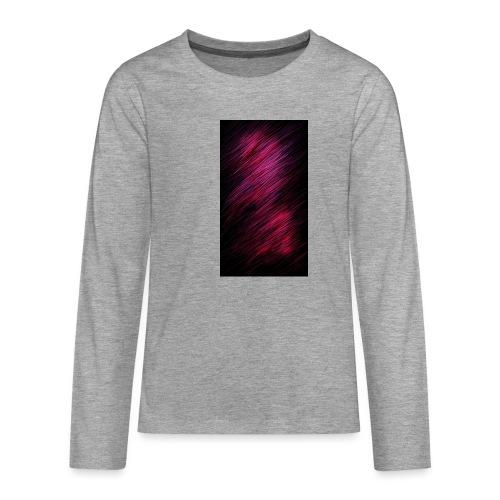 Oskis special - Långärmad premium T-shirt tonåring