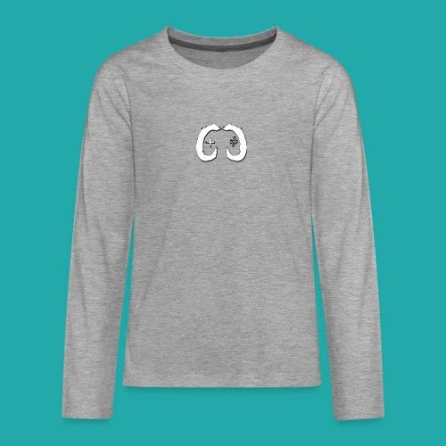Crowd Control Logo - Teenagers' Premium Longsleeve Shirt