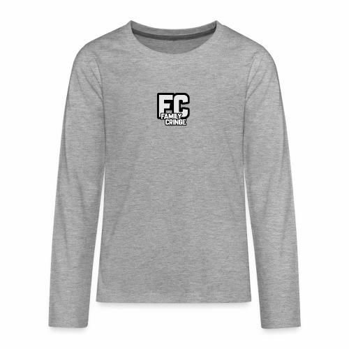 FAMILY CRINGE - Långärmad premium T-shirt tonåring