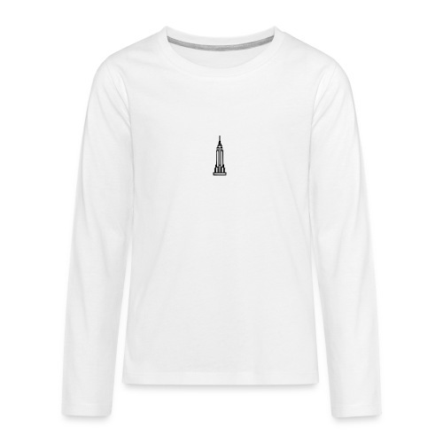 Empire State Building - T-shirt manches longues Premium Ado