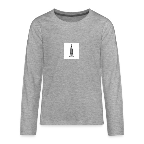 Empire State Building - T-shirt manches longues Premium Ado