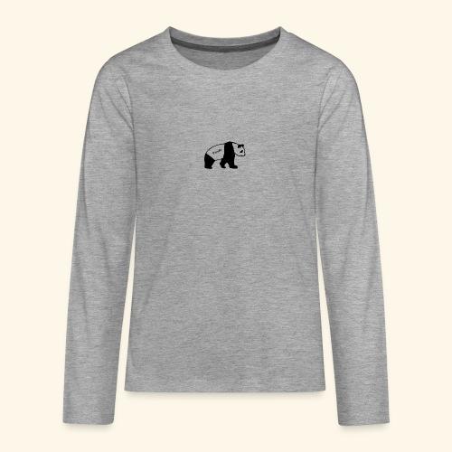 Panda - Teenager Premium Langarmshirt