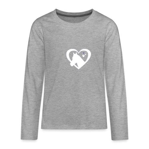 horse heart - Teenager Premium shirt met lange mouwen