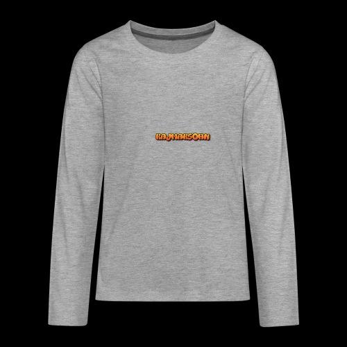 KajmakSohn - Teenager Premium Langarmshirt