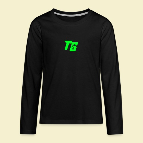 TristanGames logo merchandise - Teenager Premium shirt met lange mouwen