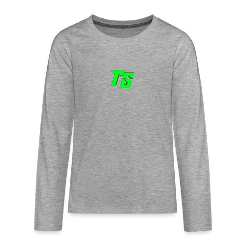 Tristan Jeux marchandises logo - T-shirt manches longues Premium Ado