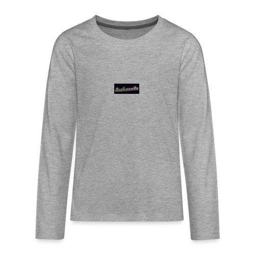 RoshaanRa - Teenagers' Premium Longsleeve Shirt