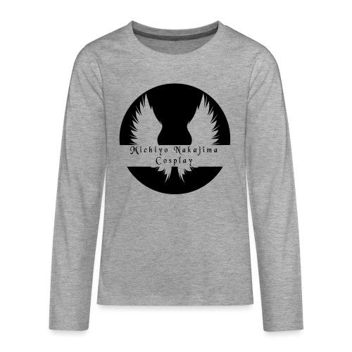 MNC Logo [No Phrase] - Teenagers' Premium Longsleeve Shirt