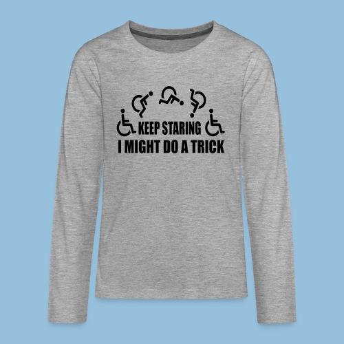 Mightdoatrick1 - Teenager Premium shirt met lange mouwen