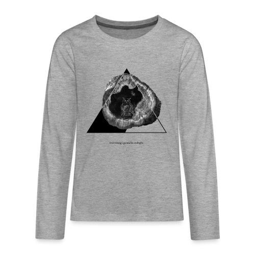 Everything s owlright - Teenager Premium Langarmshirt