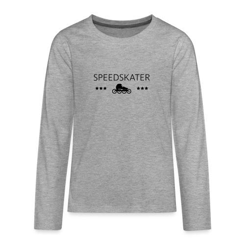 Speedskater - Teenager Premium Langarmshirt