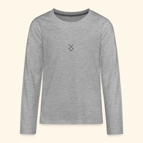 NONO SINCE 2017 - Teenager premium T-shirt med lange ærmer