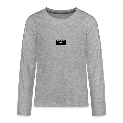 T-shirt staff Delanox - T-shirt manches longues Premium Ado