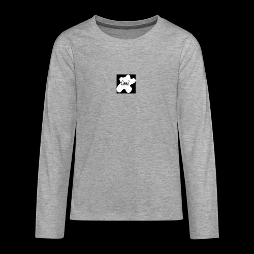 Black/white Art - Teenagers' Premium Longsleeve Shirt
