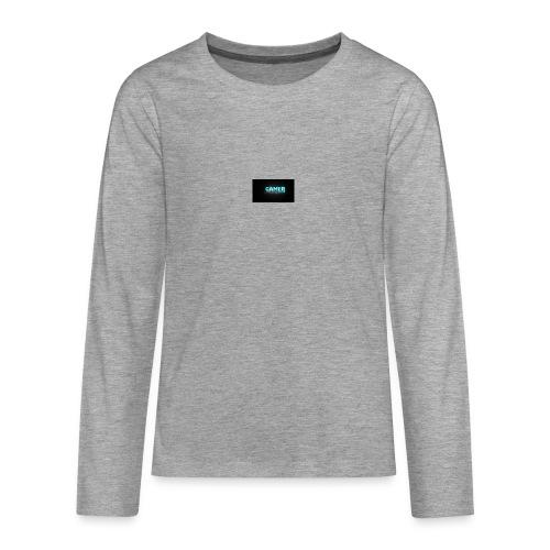 games png - Teenagers' Premium Longsleeve Shirt