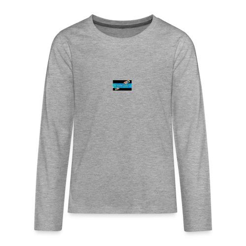 Chokladis Barn T-Shirt - Långärmad premium T-shirt tonåring