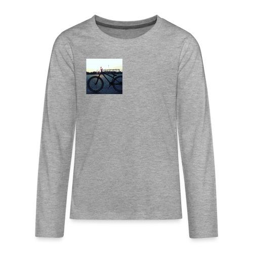 Motyw 2 - Koszulka Premium z długim rękawem dla nastolatków