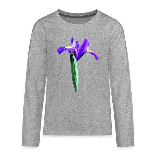 TIAN GREEN Garten - Iris 2020 02 - Teenager Premium Langarmshirt