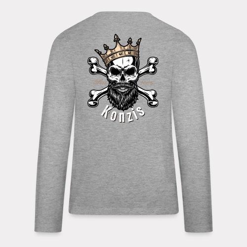 Skull Bones Logo - Teenager Premium Langarmshirt