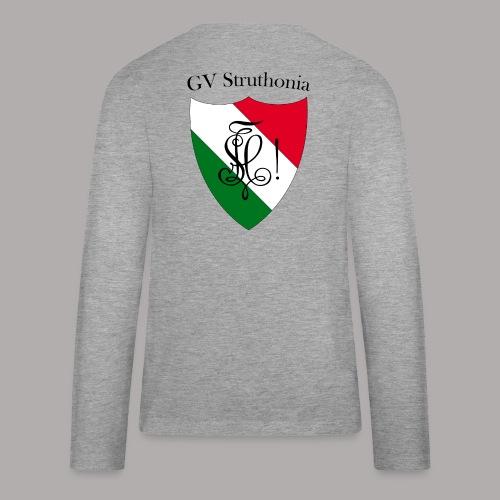 Wappen Struthonia beschriftet - Teenager Premium Langarmshirt