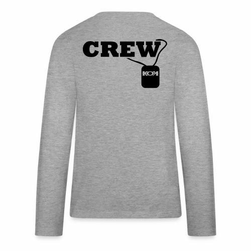 KON - Crew - Teenager Premium Langarmshirt