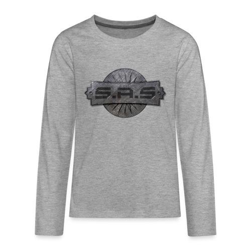 S.A.S. tshirt men - Teenager Premium shirt met lange mouwen