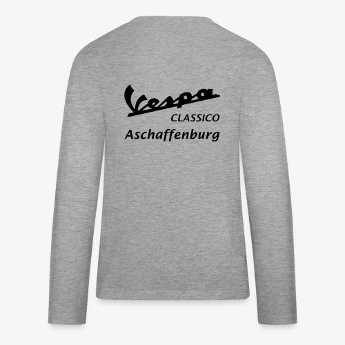 Textlogo - Teenager Premium Langarmshirt