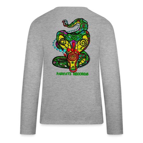 Parvati Records Cobra by Juxtaposed HAMster - Teenagers' Premium Longsleeve Shirt