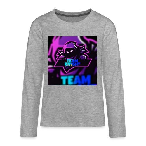 TEAM knight - Teenager Premium shirt met lange mouwen