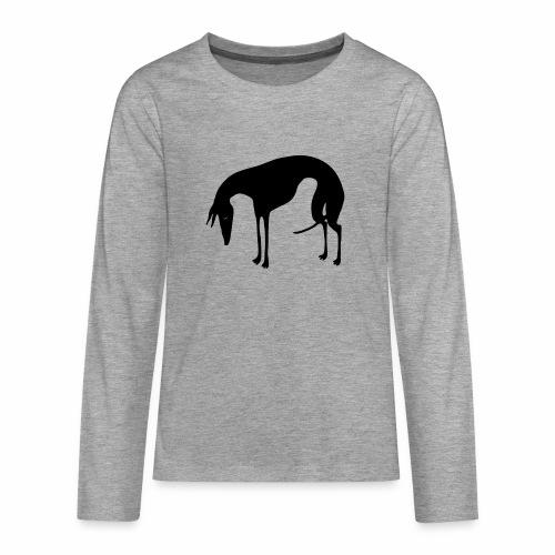Sadepäivän Surku - Teinien premium pitkähihainen t-paita