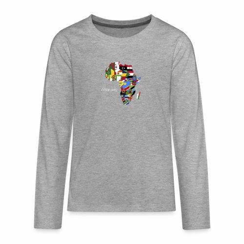 African unity - T-shirt manches longues Premium Ado