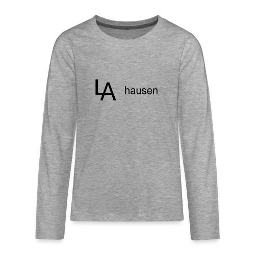 la hausen - Teenager Premium Langarmshirt