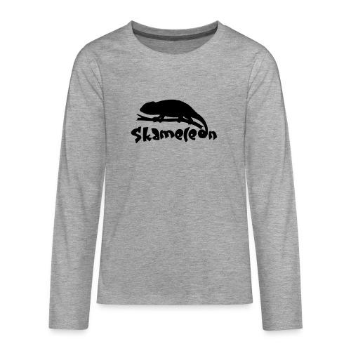 logoskameleon - Teenager Premium Langarmshirt
