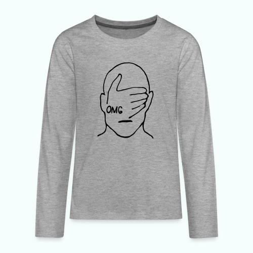 OMG - Teenager Premium Langarmshirt