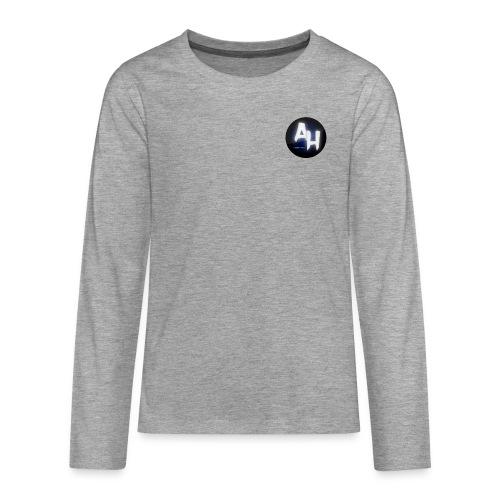 gamel design - Teenager premium T-shirt med lange ærmer