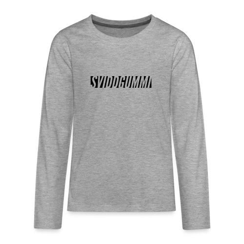 Uten_navn-2 - Premium langermet T-skjorte for tenåringer