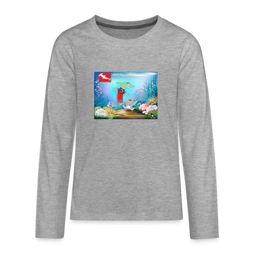 jesuis sharkie jpg - Camiseta de manga larga premium adolescente