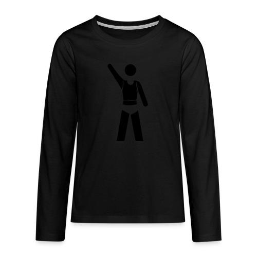icon - Teenager Premium Langarmshirt
