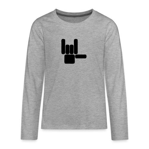 Beau Qui T'Eau boxershort - Teenager Premium shirt met lange mouwen