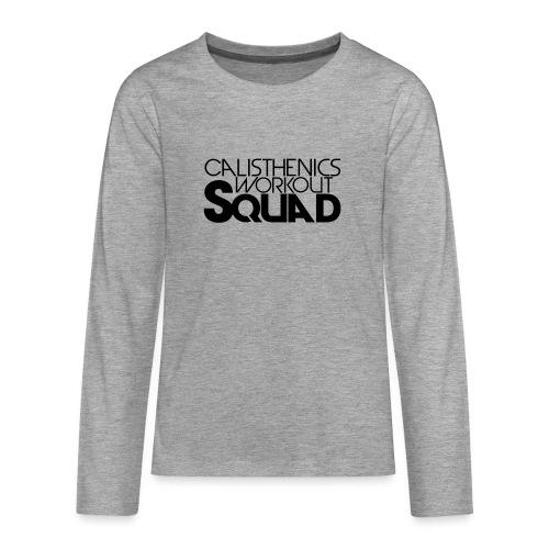 CWS Logo - Teenager Premium Langarmshirt