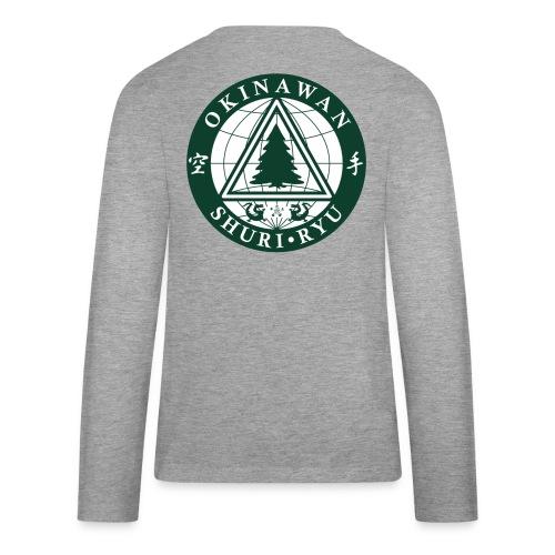 Klubmærke Ryg placering - Teenager premium T-shirt med lange ærmer