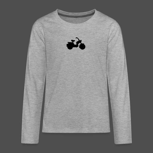 Mofa 9MO11 - Koszulka Premium z długim rękawem dla nastolatków